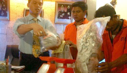 Bapak Anak Terlibat Narkoba, Ditangkap Polresta Medan